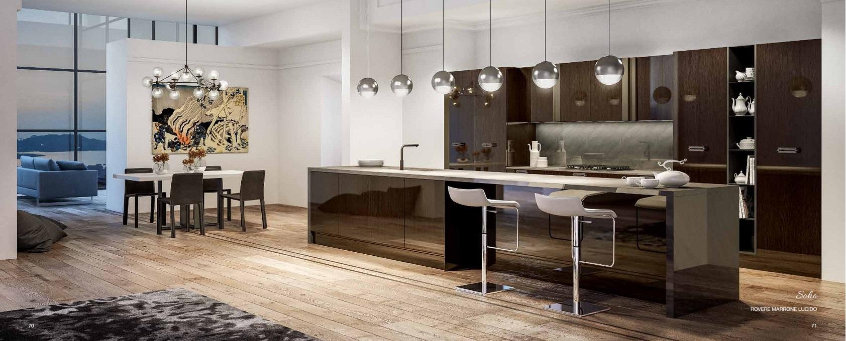 Cucine e camere da letto moderne