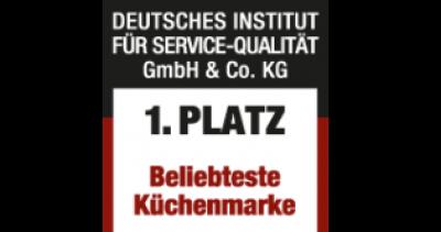 Nolte Küchen второй раз получает награду «Самый популярный кухонный бренд в Германии»